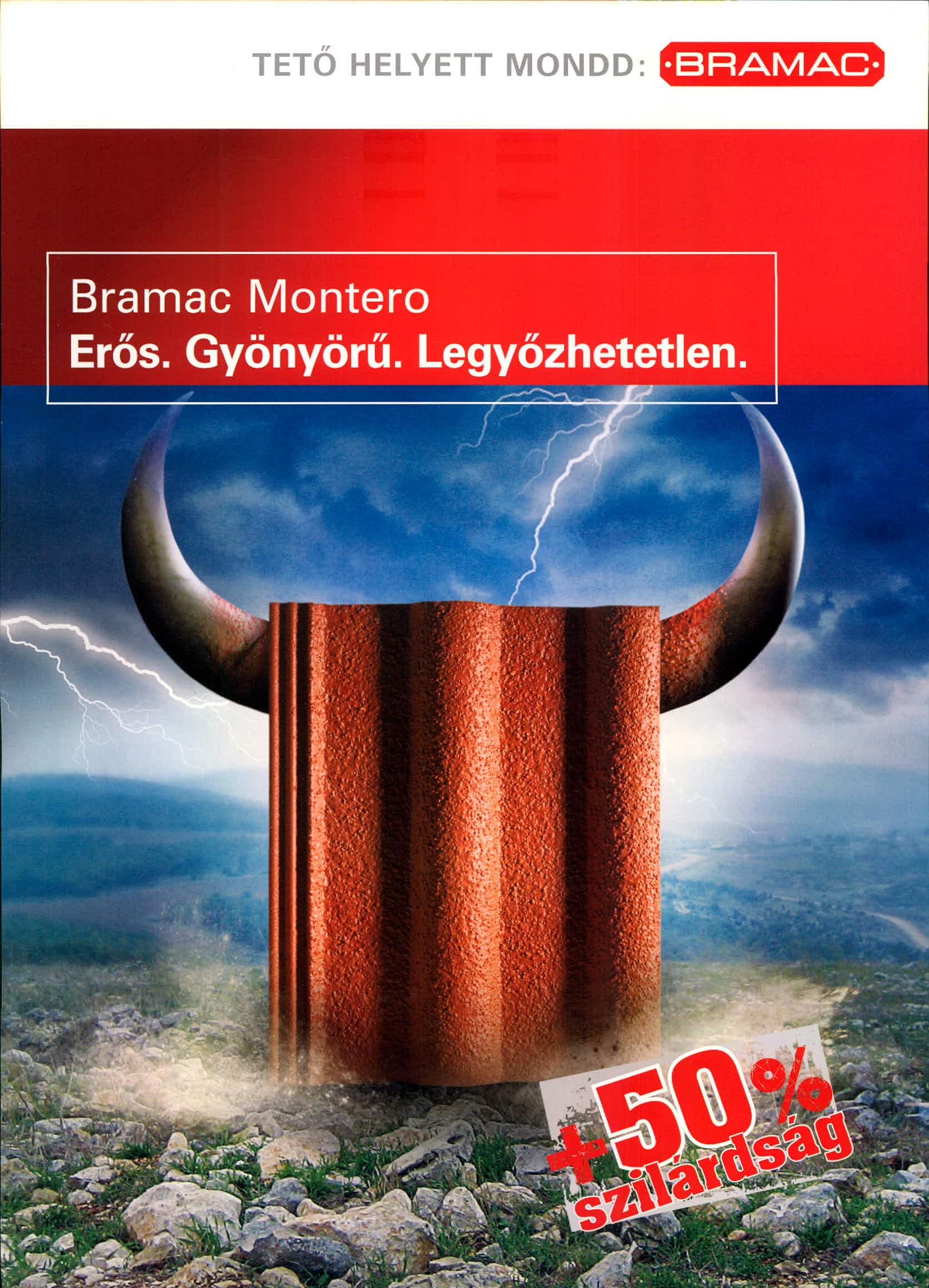 Bramac Montero tetőcserép
