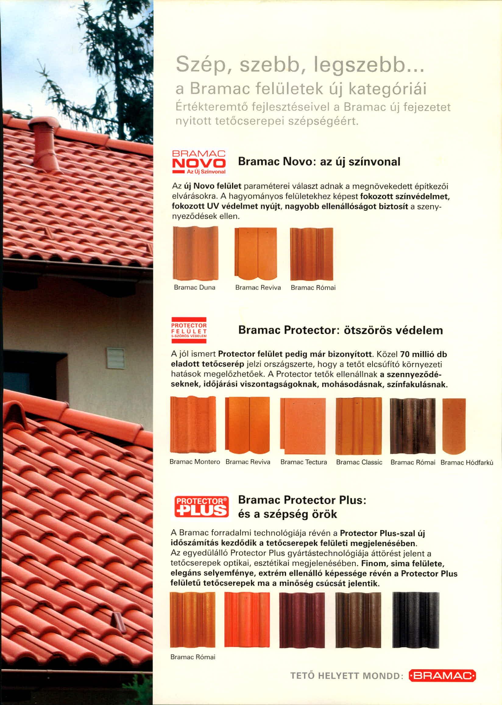 Bramac Protector Plus tetőcserép