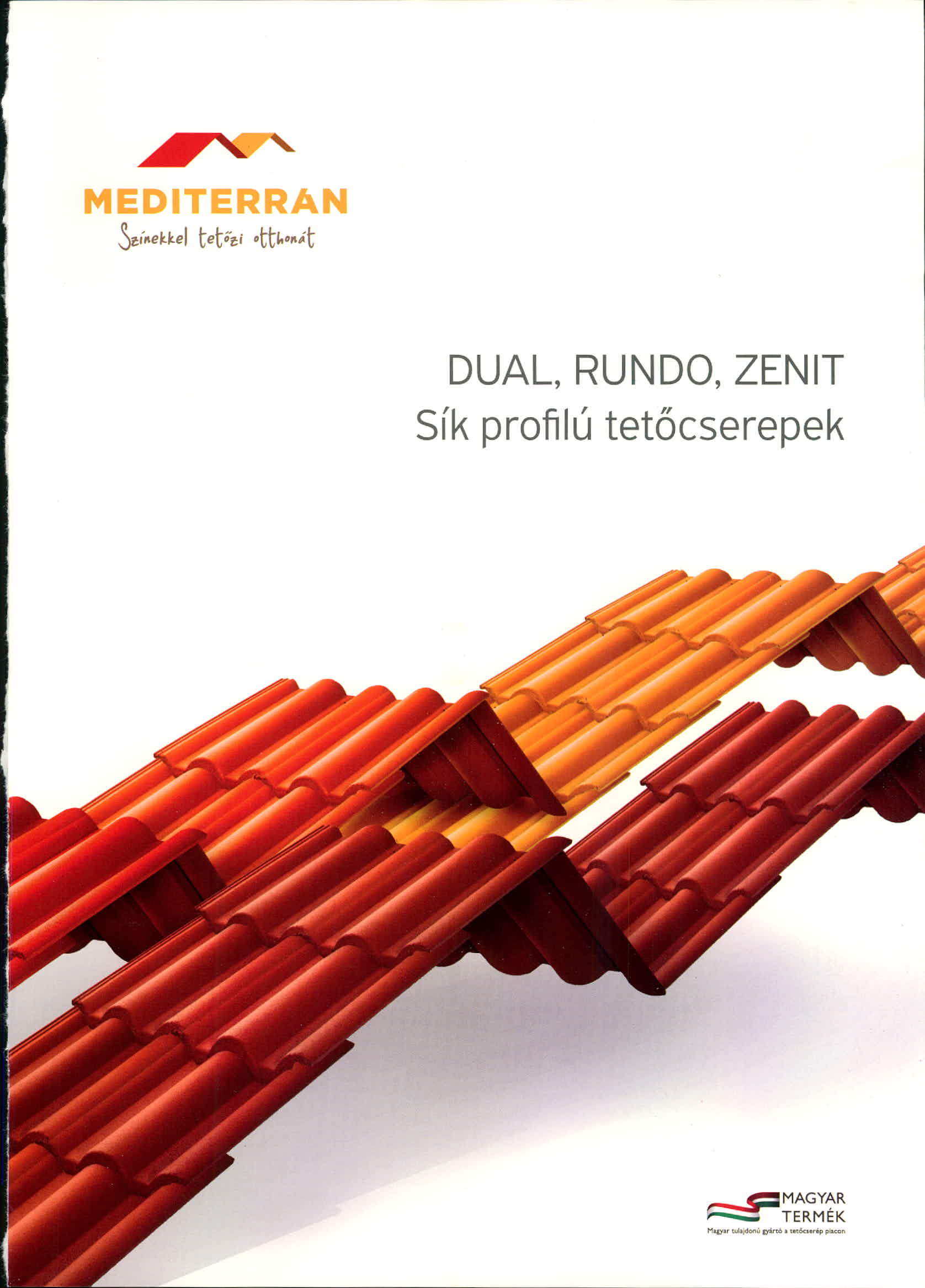 Mediterran sík tetőcserép